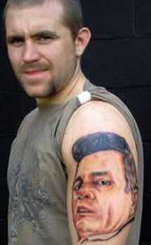 Alan Belcher Tattoo