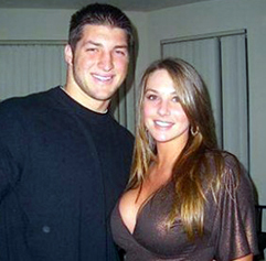 Erin Drewes and Tim Tebow